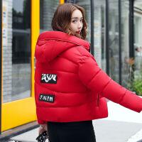 棉衣女短款宽松韩版学生面包服外套冬装羽绒女时尚可爱小棉袄