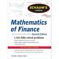【预订】Schaum's Outline of Mathematics of Finance, Second Edit