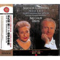 莫扎特第23 24钢琴协奏曲CD( 货号:1065084990004923)