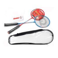 强力 情侣羽毛球拍 控球型双拍 成人业余初级训练拍 2支装 329
