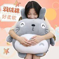 女生抱着睡觉的可爱搞怪玩偶超萌龙猫公仔抱枕毛绒玩具