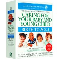 现货正版 美国儿科学会育儿百科 英文原版第六版 Caring for Your Baby and Young Chil