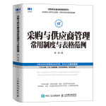 采购与供应商管理常用制度与表格范例