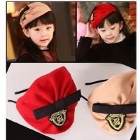 新款儿童摄影发带/韩版幼儿童发带/海军风发箍/儿童贝雷帽发卡