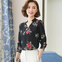 优雅可爱街头唯美韩版百搭时尚修身显瘦气质2018年春季蕾丝衫/雪纺衫