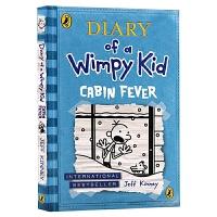 小屁孩日记6 英文原版 Diary of a Wimpy Kid Cabin Fever 哭包日记 儿童英语课外阅读章节