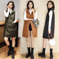 冬装羽绒棉衣女中长款真毛领修身显瘦加厚大码外套
