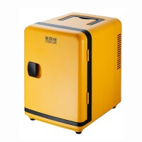 5L黄色冷暖车家两用车载冰箱便携保温家用便携式手提式迷你小冰箱制冷保冷