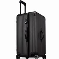 超轻加厚运动款拉杆箱万向轮30寸超大容量旅行箱男28女行李箱32寸 玫瑰金 铝框材质铂金款