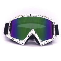 摩托车装备越野风镜滑雪风镜护目镜头盔骑行户外风镜 均码