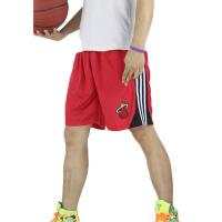 20180317195454012新款迈阿密热火队比赛服 韦德波什篮球训练裤 夏季男士五分裤