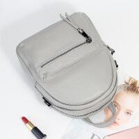 新款真皮女包时尚头层牛皮双肩包多功能旅行背包书包