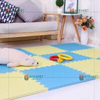 地垫垫子防摔爬行垫婴儿卧室拼接儿童加厚家用马克龙色爬爬垫