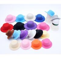 DIY配件羽毛球挂件小人小礼包 4CM的帽子 贴钻材料羽毛球配饰