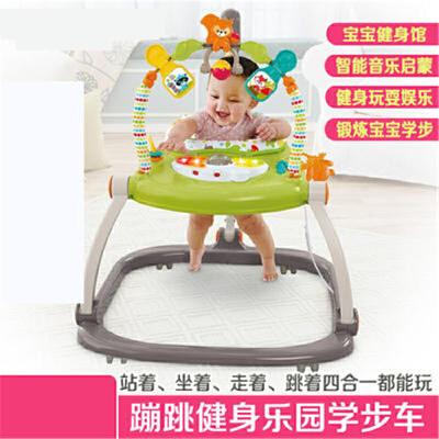 蹦跳欢乐园婴儿秋千宝宝儿童跳跳椅钢琴音乐健身架器玩具h1x 一按即收  轻巧便携