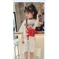 女童夏装套装中大儿童休闲两件套宝宝夏季运动服童装
