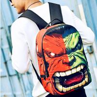 欧美个性时尚背包男潮流嘻哈牛津布创意双肩包高中学生书包女