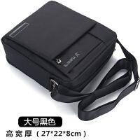 韩版男包单肩包牛津布包斜挎包运动帆布包男士包包商务休闲小背包