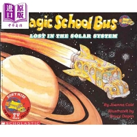 【中商原版】The Magic School Bus Lost In The Solar System 学乐神奇校车:迷