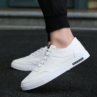 新款春季男鞋子潮鞋秋季韩版小白鞋百搭帆布鞋休闲鞋透气板鞋