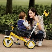 儿童三轮车宝宝脚踏车自行车手推车2-3-6岁小孩童车