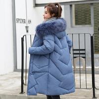 【极速发货 超低价格】棉服女冬中长款2020年新款韩版宽松棉袄ins港风东大门棉衣外套潮