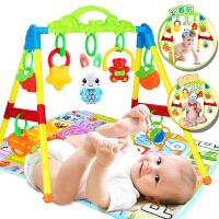 3-6-12个月男孩婴儿健身架器 新生儿玩具 0-1岁女孩益智宝宝带音乐
