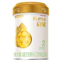 惠氏启赋(Wyeth illuma)2段奶粉 爱尔兰进口 6-12月较大婴儿配方奶粉 850克 新规格(罐装)