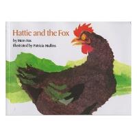 【首页抢券300-100】Hattie and the Fox 海蒂和狐狸 廖彩杏书单 幼儿故事绘本 儿童绘本图画书 英