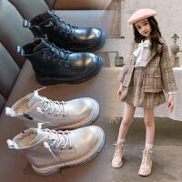 女童马丁靴冬季加绒棉鞋雪地短靴儿童靴子秋冬款女童鞋