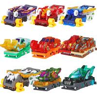 爆裂飞车3代奥迪双钻兽神合体暴力暴烈三晶片套装男变形玩具