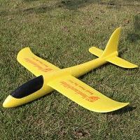 橡皮筋动力双翼滑翔飞机小学生课外模型拼装泡沫航模飞机玩具潮