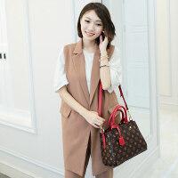 女士包包新款欧美时尚印花女包简约百搭手提包女斜挎小包包潮