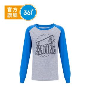 361° 361度童装 男童长袖针织衫儿童上衣运动上衣 N51733252