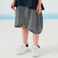 【3件2.5折后到手价:84.8元】商场同款马拉丁童装女童腰裙18夏新款腰裙128413511M
