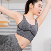 户外运动内衣女美背防震聚拢文胸瑜伽服跑步健身瑜伽背心