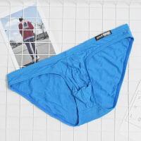 莫代尔男士低腰性感内裤男无痕细边比基尼内裤小三角内裤 X