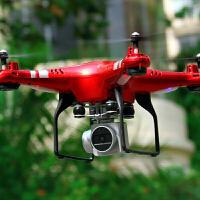 遥控飞机玩具四轴飞行器航拍无人机充电儿童摇控直升机耐摔防撞