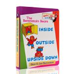 英文原版绘本 Inside, Outside, Upside Down Bright and Early Board