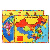 [当当自营]TOPBRIGHT 特宝儿世界地图中国地图拼图儿童玩具8162(利来国际ag手机版更优惠 电话:010-57993483
