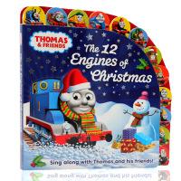英文原版绘本Thomas and Friends托马斯和他的朋友们系列The 12 Engines of Christ