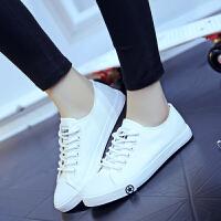 匡王情侣款帆布鞋女平底小白鞋韩版休闲鞋学生板鞋低帮布鞋子
