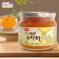 【满99减50元】韩国进口韩福10.2柠檬蜂蜜柚子茶580g