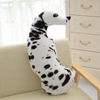 狗抱枕3d仿真可爱哈士奇狗办公室汽车沙发睡觉床头搞怪创意大靠枕