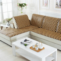 欧式沙发垫夏季 凉席沙发凉席垫 夏天麻将席坐垫沙发竹席垫子防滑