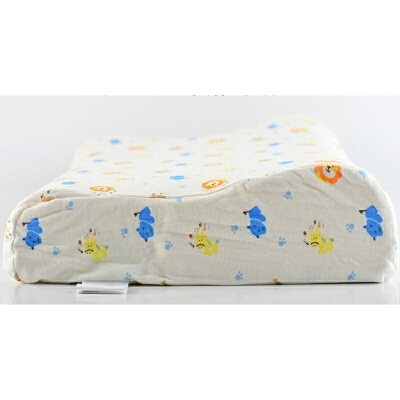 儿童乳胶枕头2-6-16岁幼儿园小学生青少年卡通婴儿定型