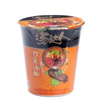 统一汤达人罗宋汤味拉面杯装85g 鲜汤方便面泡面 特产休闲零食品