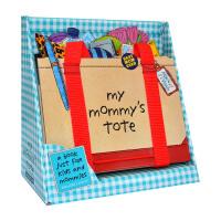 我妈妈的手提包 Workman My Mommy s Tote 英文绘本 立体操作玩具书 英文版亲子互动纸板翻翻书 益智