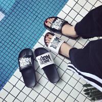 情侣拖鞋夏季韩版男女居家居室内室外拖鞋防滑浴室洗澡凉拖鞋沙滩