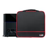 BUBM ony ps4pro游戏主机包 游戏主机电源线手柄配件保护收纳包单肩手提包 ps4/ps4 slim/Xbo